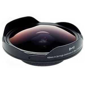 0.3X Professional High Grade Fish-Eye Lens for Canon VIXIA HF M31