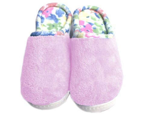 Image of Tote Secret Sole Slippers 8.5/9, Women's Pink (B0085XR9Q2)