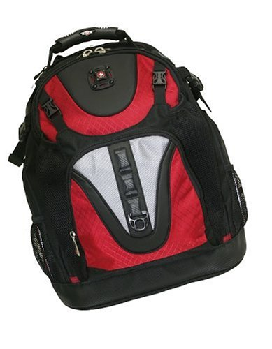 MAXXUM from SwissGear by Wenger Computer Backpack Red