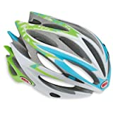 Bell Sweep Race Helmet Small 51 - 55 cm, Light Blue / Green Flowers