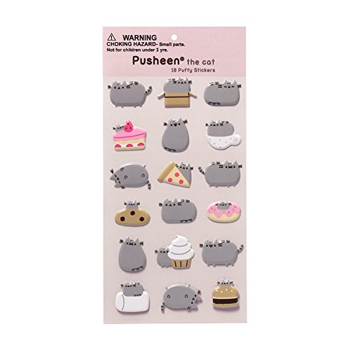 GUND Pusheen 18 Sticker Sheet - 1