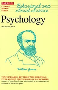 "Cover of ""Psychology (College Review Seri..."