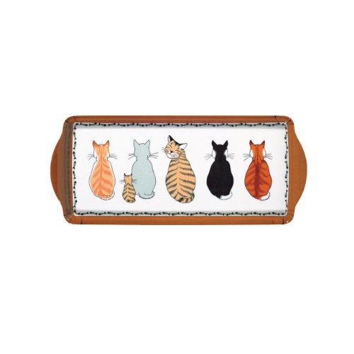 Ulster Weavers Cats in Waiting Decorative Tray, Small