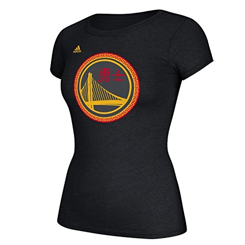 Golden State Warriors Women's Charcoal Chinese New Year T-Shirt Large