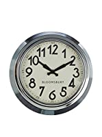Premier Housewares Reloj De Pared Chrome
