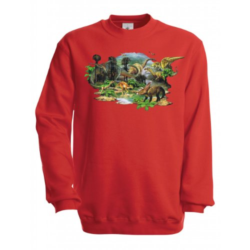 Ethno-Designs-Sweatshirt-Enfants-Dino-Land