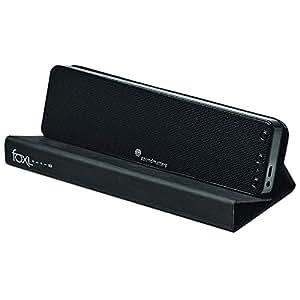 Soundmatters foxL DASH7 Wireless Stereo Hi-Fi Bluetooth Sound Bar and Speakerphone, Black
