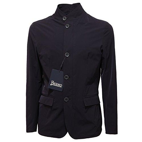 1912Q giubbotto uomo HERNO blu jacket men [50]