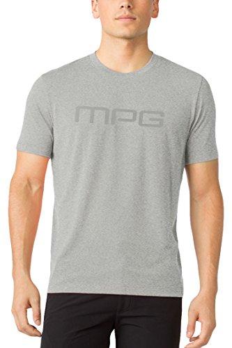 MPG Men's Salton Logot T-shirt XL Heather Concrete