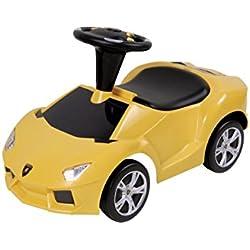 Dexton Lamborghini Aventador Foot-to-Floor Race Car (Yellow)