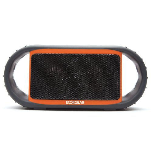Ecoxgear Ecoxbt Rugged And Waterproof Wireless Bluetooth Speaker (Orange)