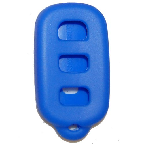 Toyota 4-Runner w/ hatch button Silicone Rubber Remote Cover 1999-2009 Blue