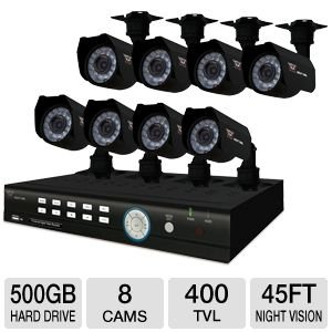 Night Owl 8BL-45GB 8 Channel DVR Kit
