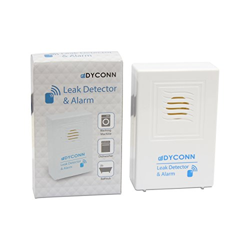 dyconn faucet lkdet 3pk water detector alarm basement undersink washer