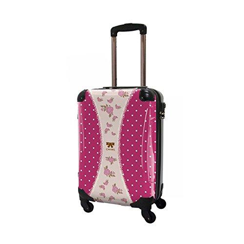 CARART(キャラート) アート スーツケース プロフィトロール ゆるり1 (真紅) ジッパー4輪 機内持込 CRA02-009C