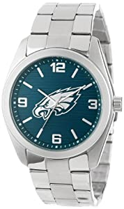 Game Time Unisex NFL-ELI-PHI Elite Philadelphia Eagles 3-Hand Analog Watch by Game Time