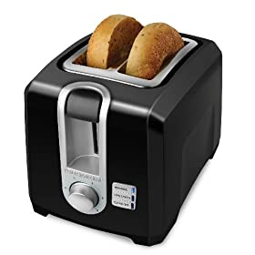 Black & Decker T2569B 2-Slice Toaster, Black