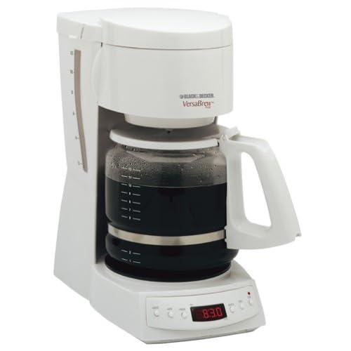 Amazon.com: Black & Decker DCM1350 VersaBrew Plus 12-Cup Programmable Coffee Maker, White: Drip ...