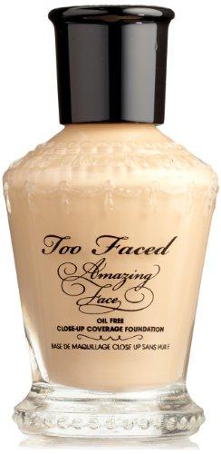 Too Faced Cosmetics Amazing Face Foundation, Vanilla Crème, 0.31-Fluid Ounce