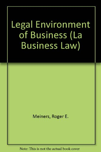 Study Guide and Quicken Buiness Law Partner CD ROM for Legal Environment of Business (La Business Law)