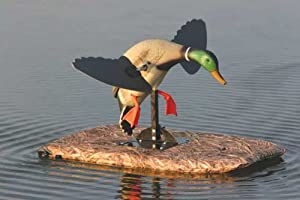 Mighty Duck Spinning Wing Floating Duck Decoy Board (Avery Buck Brush) (30 x 36 inches)