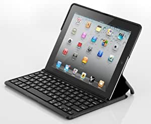 ZAGG ZAGGfolio for Apple iPad 2 - Carbon with Black Keyboard (FOLCARBLK97)