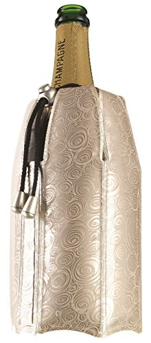 Vacu Vin Rapid Ice Champagne Cooler - Platinum (Champagne Cooler compare prices)