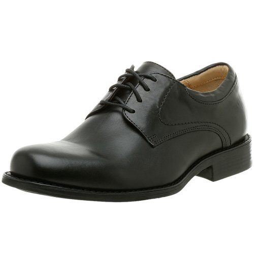 Johnston & Murphy Men's Samford Plain Toe Oxford,Black,8.5 M