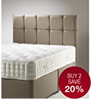 Modern Button Headboard - 7 Day Delivery