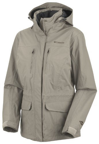 Columbia Women's Turning Point Omni-Tech Jacket - Fossil, X-Large