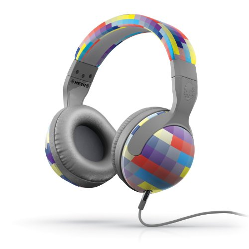 Skullcandy Hesh 2 Headphones Grey/Gridlock (2012 Color), One Size