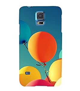 printtech Carnival Balloon Back Case Cover for Samsung Galaxy S5 G900i::Samsung Galaxy S5 i9600::Samsung Galaxy S5 G900F