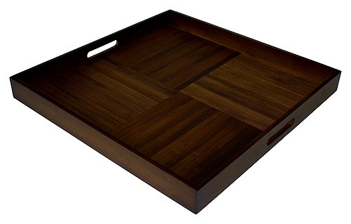 Simply Bamboo Extra Large 20 X 20 Espresso Brown Bamboo