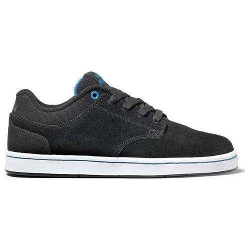 Supra Dixon Skateboard Shoes, Black Suede, Men's US (9.0)