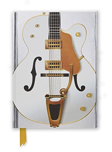 Gretsch White Guitar (Foiled Journal) (Flame Tree Notebooks)