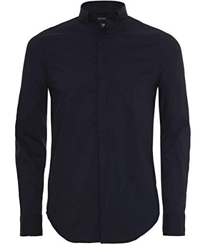 Armani Jeans Extra-slim Fit Camicia Cotone XL Nero