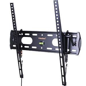 VideoSecu TV Wall Mount Tilt Low Profile Ultra Slim Television Mount Bracket for Most 26