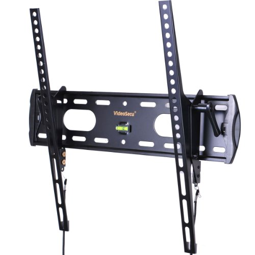 VideoSecu TV Wall Mount Tilt Low Profile Ultra Slim Television Mount Bracket for Most 26