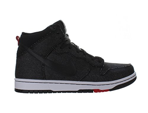 Nike Men's Dunk Cmft Black/Black/White/Unvrsty Red Basketball Shoe 10 Men US