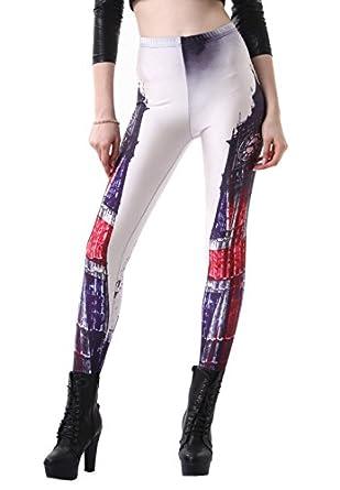 Sunnydate Women's New 2025 Fashion Leggings Big BenPattern