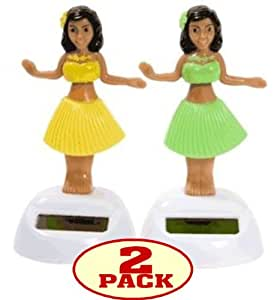 Amazon.com: Solar Dancing Hula Girls (Set of 2): Home & Kitchen