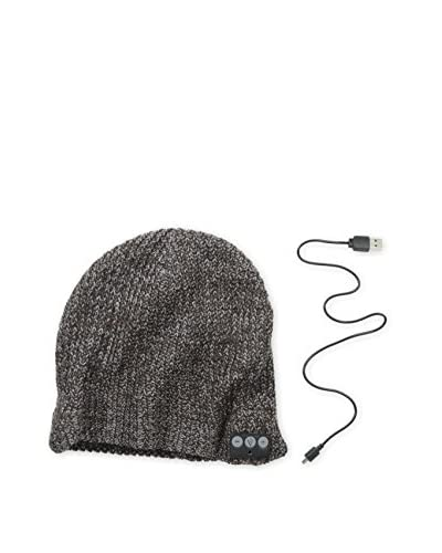 1 Voice Men's Bluetooth Beanie, Burgundy/Grey