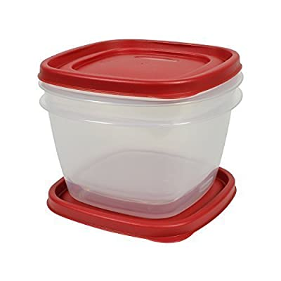 Rubbermaid Easy Find Lid Food Storage Set, 7 Cup, 2 Piece Set (4-Pack) Size: 7 Cup (4-Pack) Style: 2 Piece set, Model: , Hardware Store