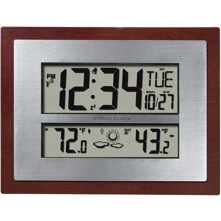 Better Homes and Gardens Atomic Clock with Forecast