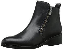 Cole Haan Women\'s Oak Boot, Black Leather, 8 B US