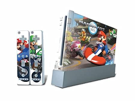 Super Mario Kart Case Skin fit Nintendo Wii games N108+B47