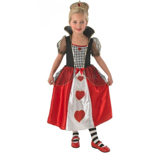 Queen of Hearts Costume - Kids - Large 7-8 Years