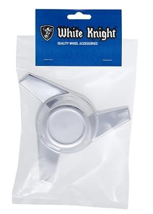 White Knight 45L-AM Chrome Finish 3-Bar Swept Medallion Top Left Spinner