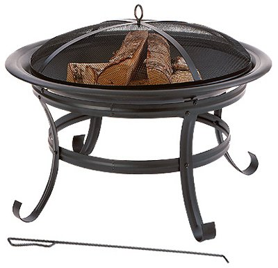 Well-Traveled-Living-61081-Fire-Pit-With-Tool-Steel-30-In-Round