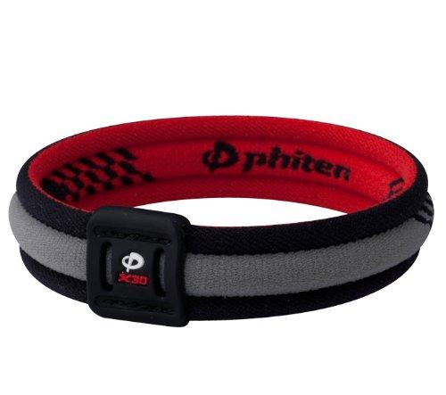 Titanium Bracelet - X30 Edge Black/Red 7 1/2 inch